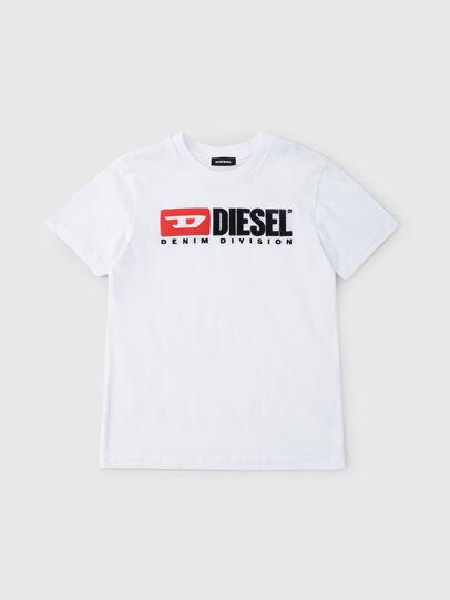 Diesel - TJUSTDIVISION, Weiß - T-Shirts und Tops - Image 1