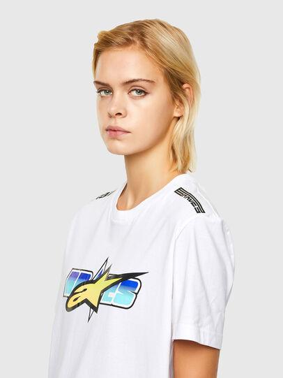 Diesel - ASTARS-T-DIEGOS-B-FL, Weiß - T-Shirts - Image 5
