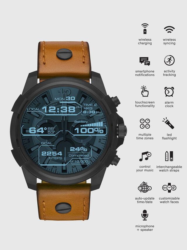 Diesel - DT2002, Braun - Smartwatches - Image 1