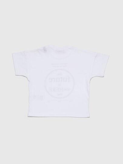 Diesel - TARTIB, Weiß - T-Shirts und Tops - Image 2