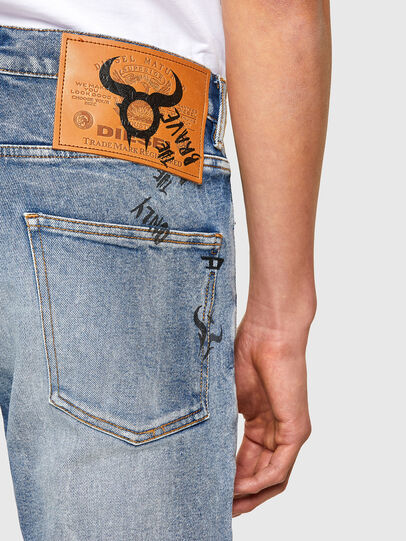 Diesel - D-Kras 009VW, Hellblau - Jeans - Image 4