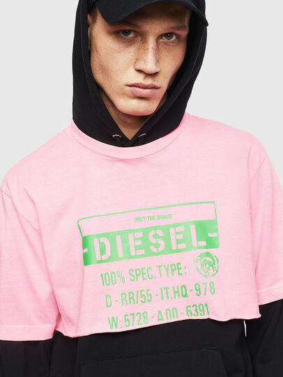 Diesel - T-CROPPY, Rosa - T-Shirts - Image 7