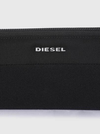 Diesel - 24 ZIP, Schwarz - Portemonnaies Zip-Around - Image 4