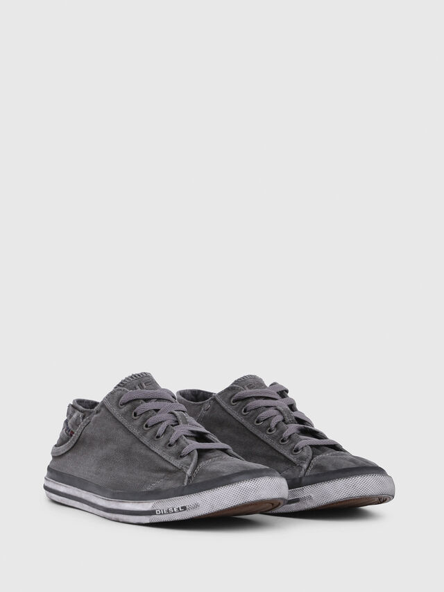 Diesel - EXPOSURE LOW I, Silbergrau - Sneakers - Image 2