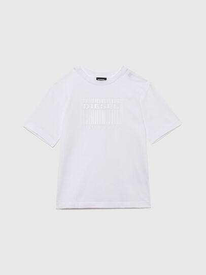 Diesel - TUDERCODE OVER, Weiß - T-Shirts und Tops - Image 1