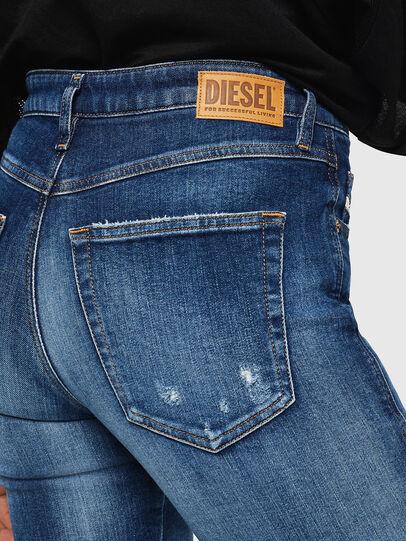 Diesel - Babhila 069FY, Mittelblau - Jeans - Image 5