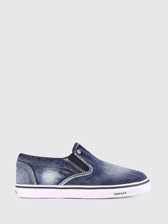 KIDS SLIP ON 21 DENIM YO, Jeansblau - Schuhe - Image 1