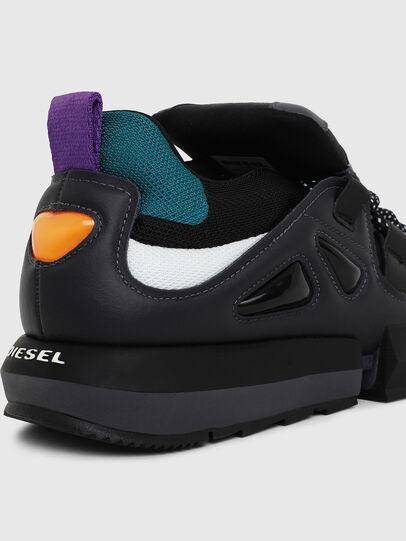 Diesel - H-PADOLA LOW S, Schwarz - Sneakers - Image 4