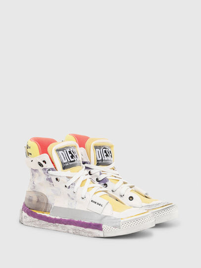 Diesel - S-ASTICO PNT W, Weiß/Rosa - Sneakers - Image 2