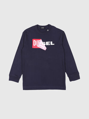 TEDRI OVER, Marineblau - T-Shirts und Tops