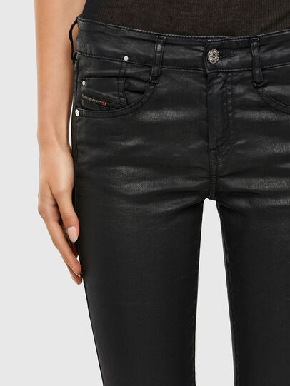 Diesel - D-Ollies JoggJeans® 069QJ, Schwarz/Dunkelgrau - Jeans - Image 4