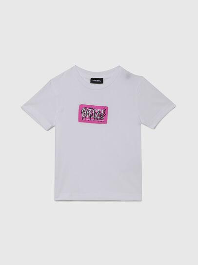 Diesel - TJUSTX62B-R, Weiß - T-Shirts und Tops - Image 1