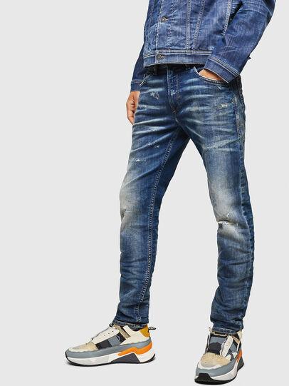 Diesel - Thommer JoggJeans 0870Q, Mittelblau - Jeans - Image 4