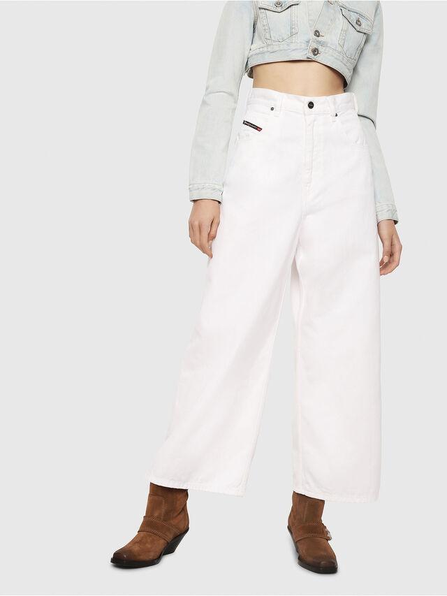 Diesel - D-Luite 069EE, Weiß - Jeans - Image 1