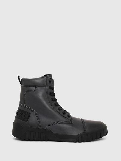 Diesel - H-RUA AM, Dunkelblau - Sneakers - Image 1
