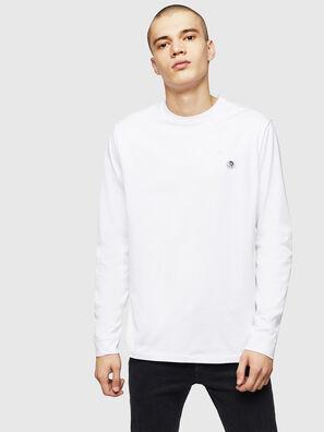 T-JUSTY-LS, Weiß - T-Shirts