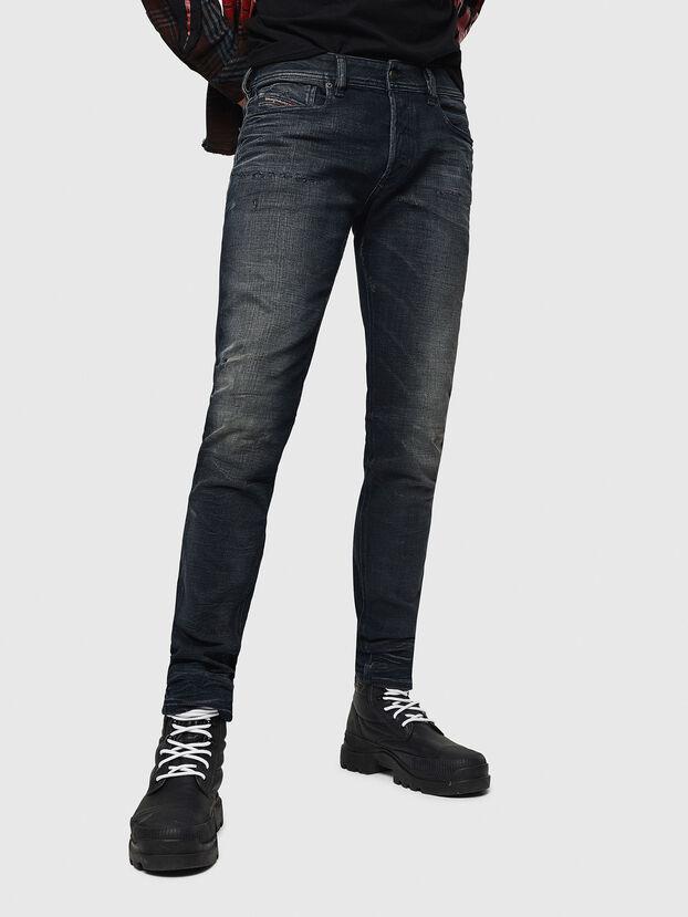 Sleenker 0870J, Schwarz/Dunkelgrau - Jeans