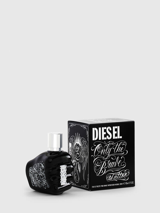 ONLY THE BRAVE TATTOO 50 ML, Schwarz