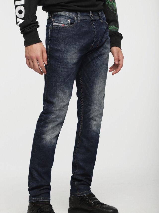Diesel Tepphar 0853R, Dunkelblau - Jeans - Image 1