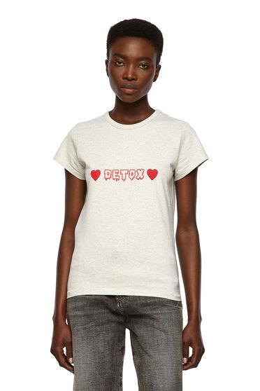 T-Shirt mit Detox-Print