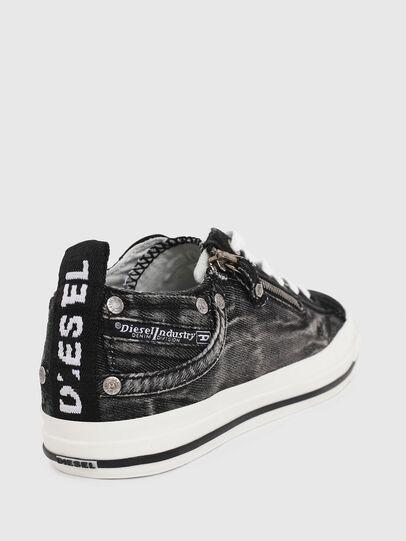Diesel - EXPO-ZIP LOW W, Jeansschwarz - Sneakers - Image 4