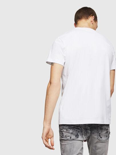 Diesel - T-DIEGO-B6, Weiß - T-Shirts - Image 2
