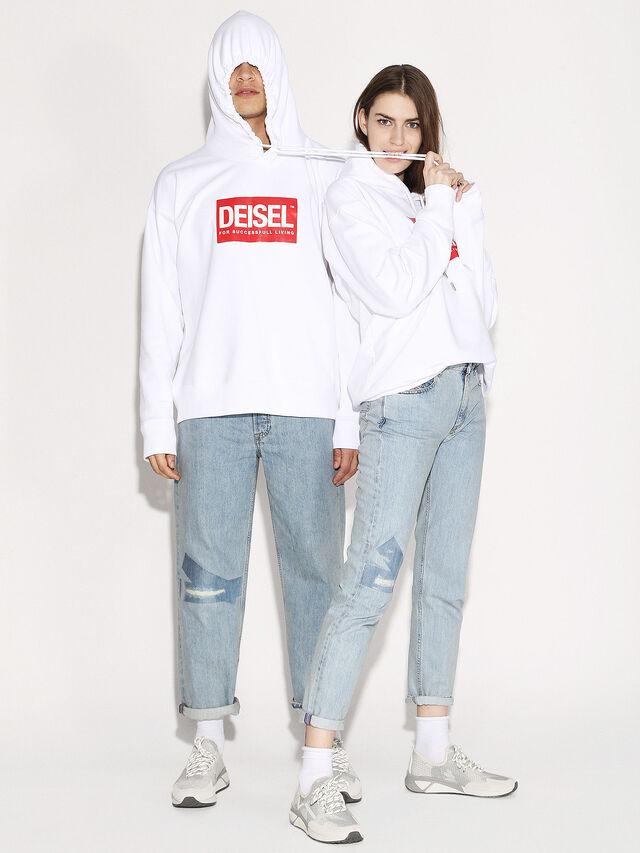 Diesel - DEIS-SHOOD, Weiß - Sweatshirts - Image 4