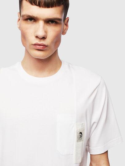 Diesel - T-RISEN, Weiß - T-Shirts - Image 5
