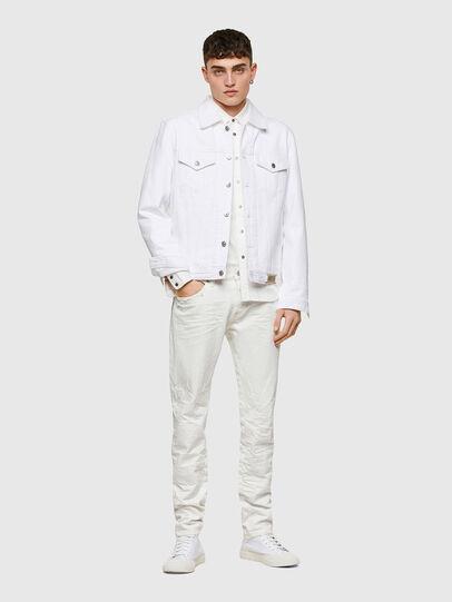 Diesel - D-Kras 0HBAJ, Weiß - Jeans - Image 6