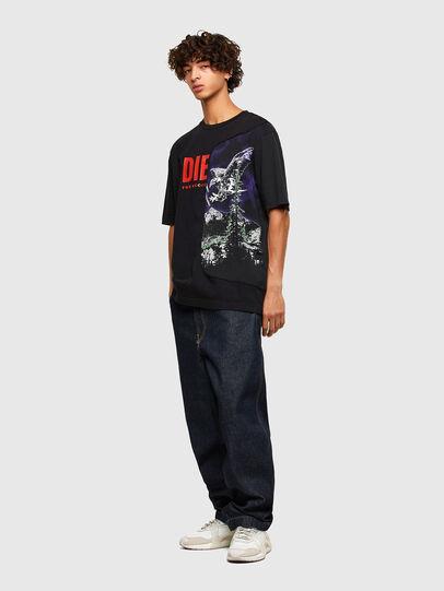 Diesel - T-BLAST, Schwarz - T-Shirts - Image 4