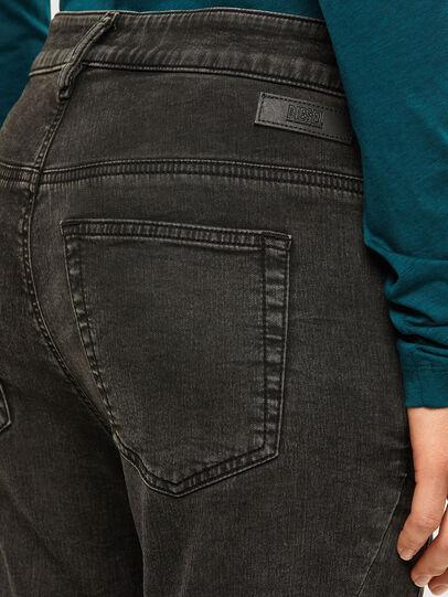 Diesel - FAYZA JoggJeans® 009HM, Schwarz/Dunkelgrau - Jeans - Image 4
