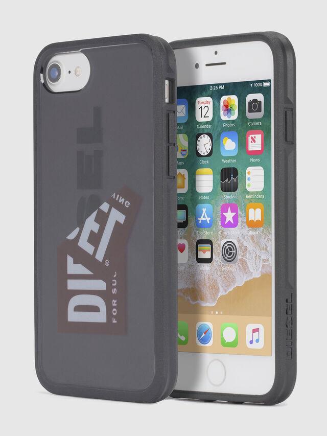 Diesel STICKER IPHONE 8 PLUS/7 PLUS/6s PLUS/6 PLUS CASE, Schwarz - Schutzhüllen - Image 1