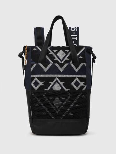 Shoppertasche mit mehreren Tragemöglichkeiten mit Navajo-Motiv