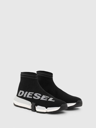 Diesel - H-PADOLA MID SOCK W, Schwarz - Sneakers - Image 2