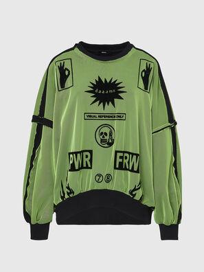 F-TRULY, Grün - Sweatshirts