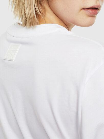 Diesel - T-HUSTY-LS, Weiß - T-Shirts - Image 6