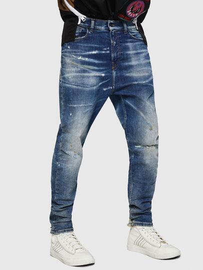 Diesel - D-Vider JoggJeans 0870Q, Mittelblau - Jeans - Image 1