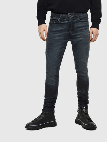Diesel - D-Reeft JoggJeans 069MD, Dunkelblau - Jeans - Image 3