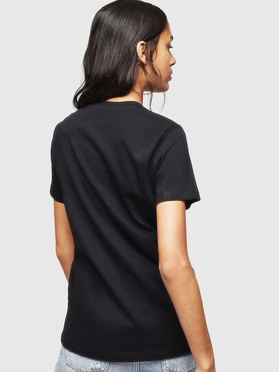 Diesel - T-SILY-WX, Schwarz - T-Shirts - Image 2