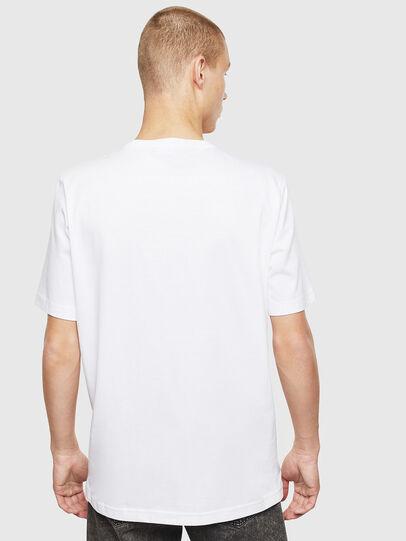 Diesel - T-JUST-T25, Weiß - T-Shirts - Image 2