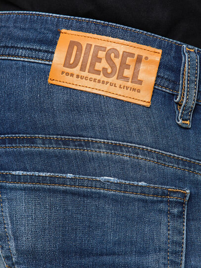 Diesel - Thommer JoggJeans 069PL, Dunkelblau - Jeans - Image 4