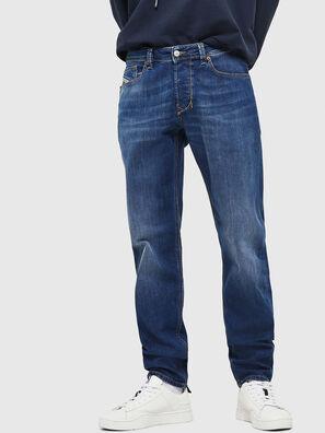 Larkee-Beex 082AZ, Dunkelblau - Jeans