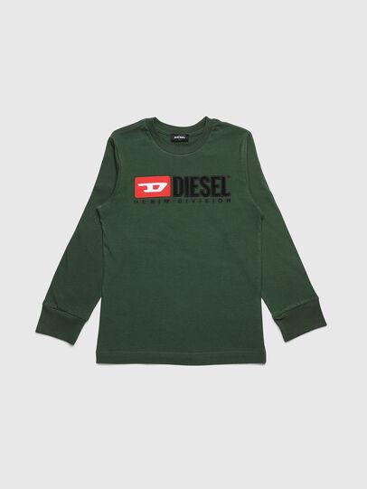 Diesel - TJUSTDIVISION ML, Dunkelgrün - T-Shirts und Tops - Image 1