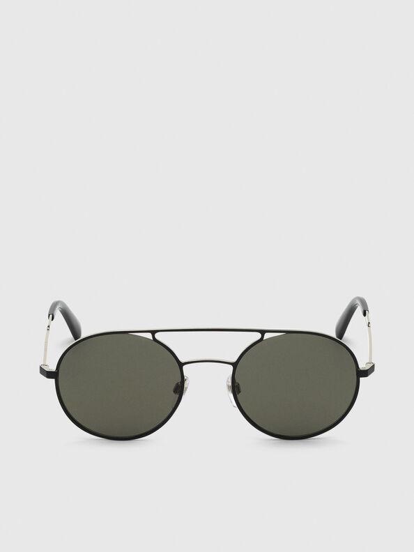 DL0301, Schwarz/Gold - Sonnenbrille
