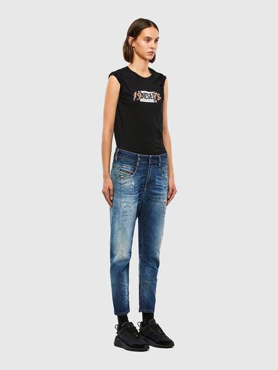 Diesel - Fayza 009LF, Mittelblau - Jeans - Image 6