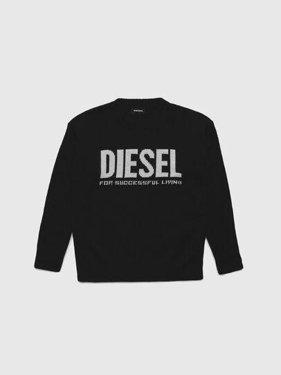 Diesel - KLOGOSX, Schwarz - Strickwaren - Image 1