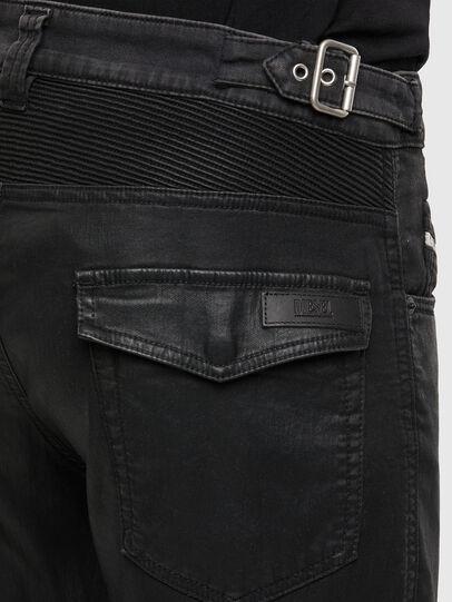 Diesel - D-Derrot JoggJeans® 069QY, Schwarz/Dunkelgrau - Jeans - Image 4