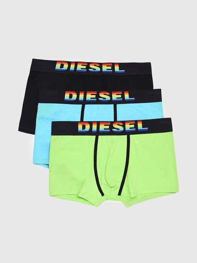 Diesel - UMBX-DAMIENTHREEPACK, Bunt/Schwarz - Boxershorts - Image 1