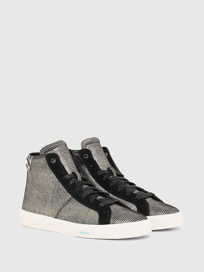Diesel - S-MYDORI MC W, Grau/Schwarz - Sneakers - Image 2