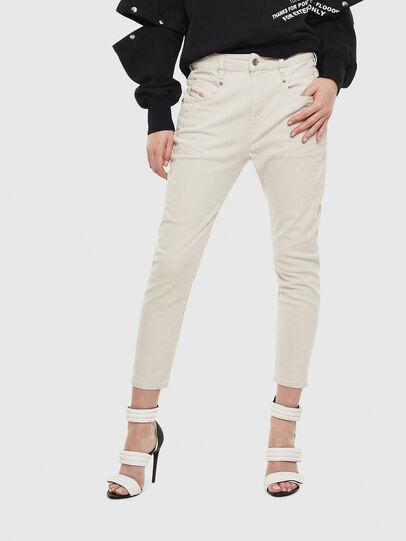 Diesel - Fayza 009BX, Schmutziges Weiß - Jeans - Image 1